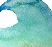Watercolor Wave Sticker