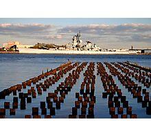 Battleship New Jersey Photographic Print