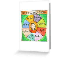 You are a Whole Person Notecard Greeting Card