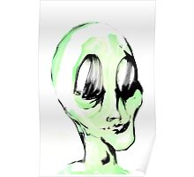 This Alien is Green And So Am I Poster