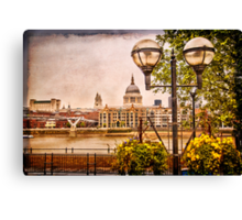 View on St Paul`s Cathedral  Canvas Print