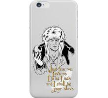 Jareth, The Goblin King iPhone Case/Skin