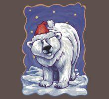 Polar Bear Christmas Baby Tee