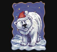 Polar Bear Christmas One Piece - Short Sleeve
