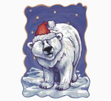 Polar Bear Christmas One Piece - Long Sleeve