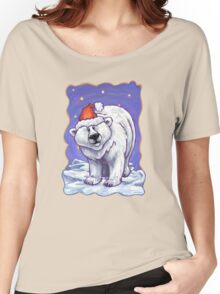 Polar Bear Christmas Women's Relaxed Fit T-Shirt