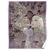 Blowing Bubbles Poster