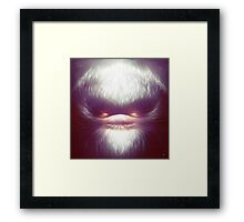 Smooth Fine Evil Framed Print