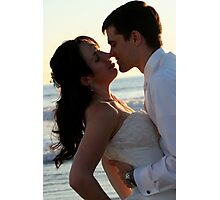 The bride and groom Photographic Print
