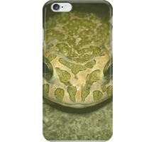 Green Toad iPhone Case/Skin