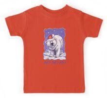Polar Bear Christmas Card Kids Tee