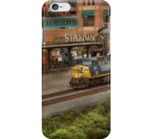 Train - Pittsburg, PA - Station Square iPhone Case/Skin