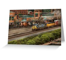 Train - Pittsburg, PA - Station Square Greeting Card