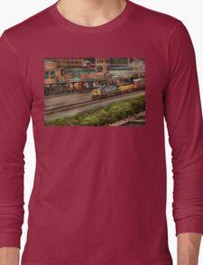 Train - Pittsburg, PA - Station Square Long Sleeve T-Shirt