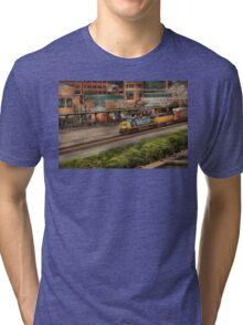 Train - Pittsburg, PA - Station Square Tri-blend T-Shirt