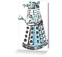 Dalek Graffiti Greeting Card