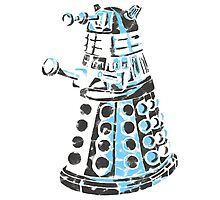 Dalek Graffiti Photographic Print