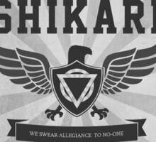Enter Shikari White/Grey Sticker