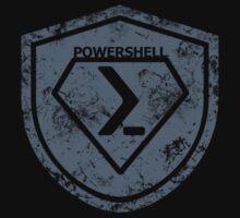 PowerShell Emblem Gray by myclubtees
