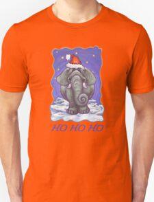 Elephant Christmas Card Unisex T-Shirt