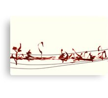 Land Line - 5 Canvas Print