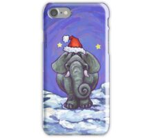 Elephant Christmas iPhone Case/Skin
