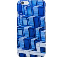 Blue Architecture Abstract - iPhone Case iPhone Case/Skin