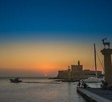 Rodos Island by hayrettinsokmen