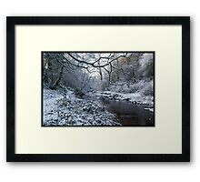 Ayrshire Winter Scene Framed Print