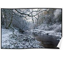 Ayrshire Winter Scene Poster