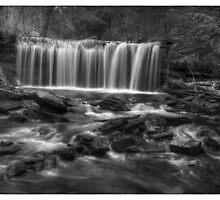 Oneida Falls November 2011 by Aaron Campbell