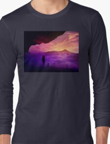 Over the clouds  Long Sleeve T-Shirt