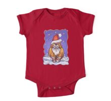 Ginger Cat Christmas One Piece - Short Sleeve