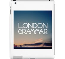 London Grammar iPad Case/Skin
