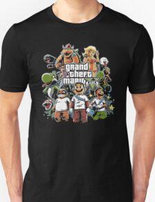 Grand Theft Mario T-Shirt