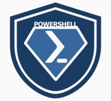 PowerShell Emblem Blue by myclubtees