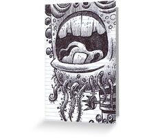 Old, one tooth Greeting Card
