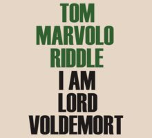 I am Lord Voldemort by jancarlob