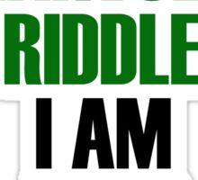 I am Lord Voldemort Sticker