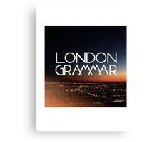 London Grammar 2 Canvas Print