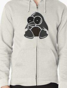 Love Penguins Zipped Hoodie