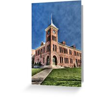 The Flagstaff Courthouse  Greeting Card