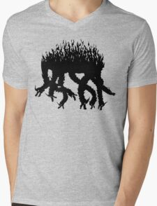 Ink Orochi (Okami) Mens V-Neck T-Shirt