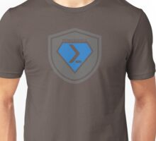 PowerShell Emblem Gray & Blue Unisex T-Shirt