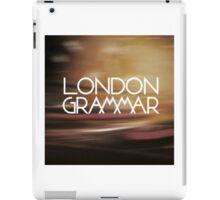 London Grammar 3 iPad Case/Skin