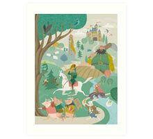The Land of Enchantment Art Print