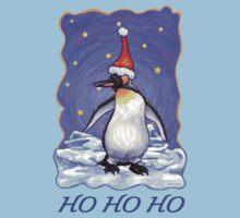 Penguin Christmas Card Kids Tee