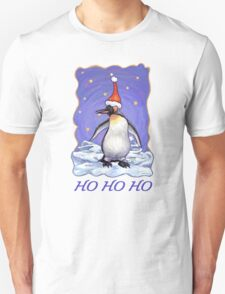 Penguin Christmas Card Unisex T-Shirt