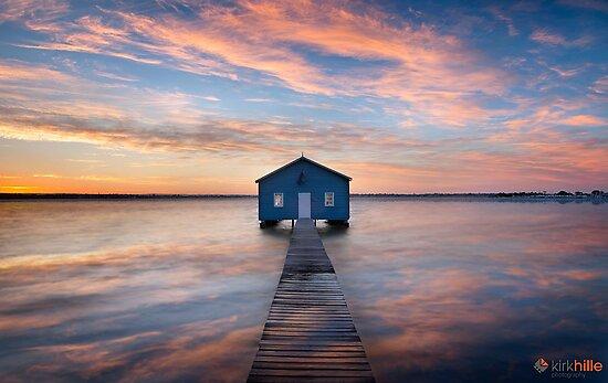 Matilda Bay Sunrise by Kirk  Hille