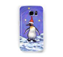 Penguin Christmas Samsung Galaxy Case/Skin